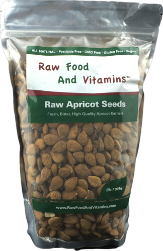 2 pounds of raw bitter apricot seeds