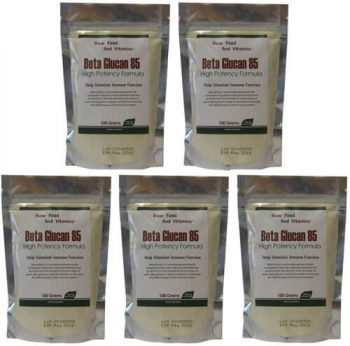 Bulk Beta Glucan Raw Powder 5 pack