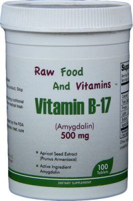 500mg Vitamin B17 100 Tablets