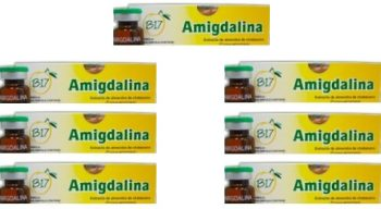 7 boxes B17 injectable liquid solution - Amigdalina