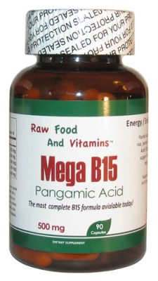 Vitamin B15 - Mega B15 Pangamic Acid