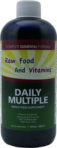 Liquid Multi Mineral Vitamins Whole Food