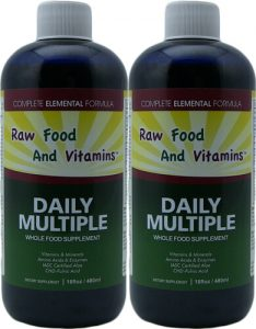 Liquid Two Multi Mineral Vitamins Whole food supplements