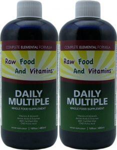 Liquid Two Multi Mineral Vitamins Whole food supplements