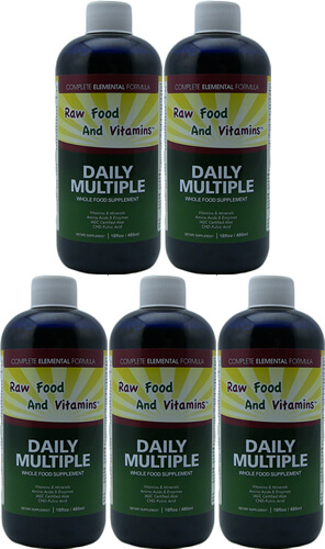 Liquid 5 Multi Mineral Vitamins Whole Food