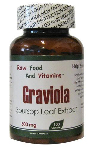 Graviola Sour Leaf Extract - Ingredients