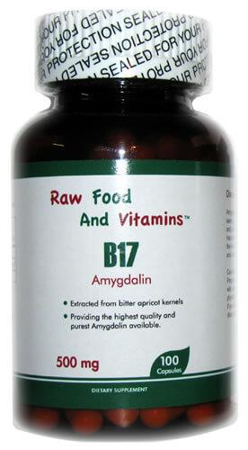 500mg Vitamin B-17 - 100 Capsules