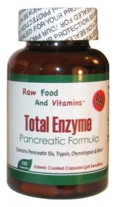 Total Enzymes replaced Megazyme Forte'