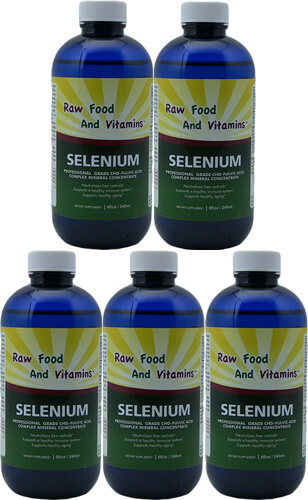 5 Angstrom Selenium mineral Solution